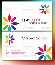 colorful name card template cardview net business card visit card design