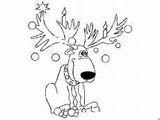 Weihnachten Malvorlagen Rentier Verziertes Rentier Ausmalbild Malvorlage Comics