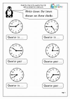 time worksheets for year 2 age 6 7