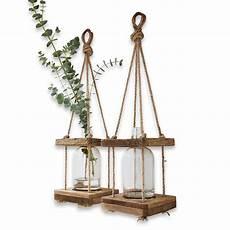 meuble rangement bois 54557 lot de 2 vases 224 suspendre corial loberon