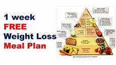 free weight loss meal plan diet plan for weight loss