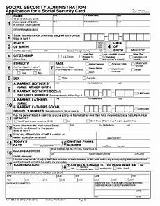 21 printable social security form templates fillable sles in pdf word to download pdffiller