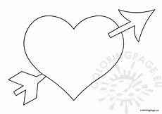 with arrow coloring coloring page