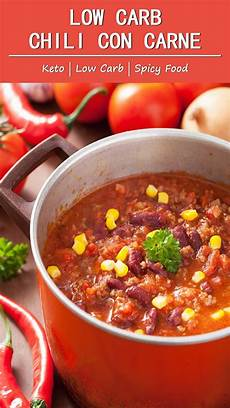 more than lifestyle low carb chili con carne more than
