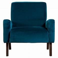 fauteuil bleu canard fauteuil marlon en velours bleu canard the conran shop