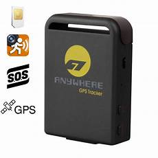 Traceur Gps Tracking Gprs Gsm Sos Voiture Animaux Auto Moto
