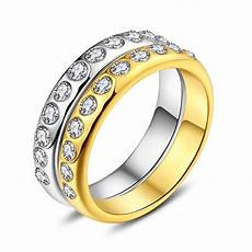 nakelulu crystal wedding rings for women jewelry wholesale