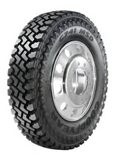 goodyear lkw reifen goodyear commercial tire systems g741 msd truck tire in