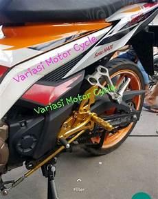 Variasi Motor Sonic by Jual Underbone Honda Sonic 150 Cnc Footstep Sonic 150r