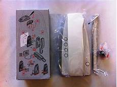 terraneo bticino 334202 sprint audio handset 5 wire cribb sons ltd uk electrical