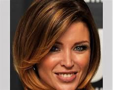 length layered bob hairstyles bangs mid medium hair styles