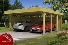 Holz Carport Bausatz Skanholz 171 Friesland Aluminiumdach