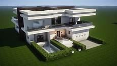 Modern House Build Minecraft