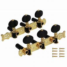 Gold Plated Classical Guitar Tuning Pegs Machine Heads