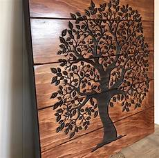 tree of life home decor wooden sign rustic wall decor