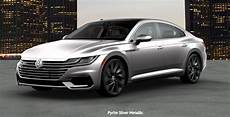 how many paint color options are there for the 2019 vw arteon