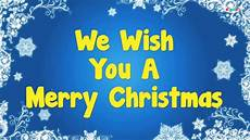 we wish you a merry christmas happy new year youtube
