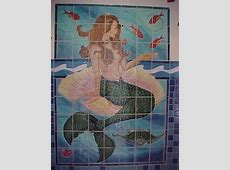 1000  images about tile mural on Pinterest   Tropical