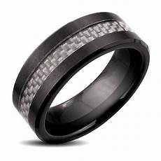 15 best ideas of black and silver wedding bands