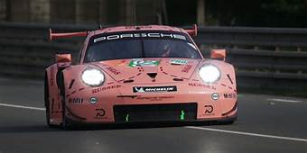 Porsche 911 RSR Le Mans Race Car Exhaust Sound