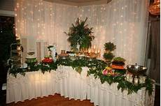 finger food buffet in a corner for small places wedding table wedding catering wedding