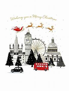 art file merry christmas london cello christmas cards of 6 at lewis partners