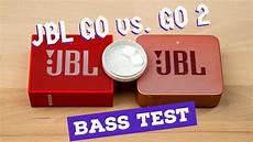 jbl go 2 test jbl go 2 vs go bass test