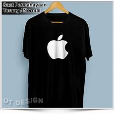 Jual Kaos Polo Apple jual kaos baju distro tshirt apple glow in the kaos
