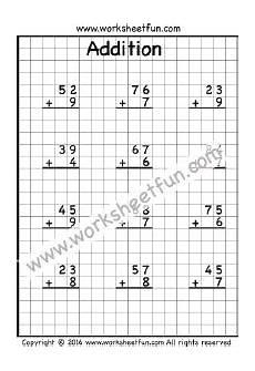 addition with regrouping worksheet for grade 1 9469 toplama toplamanın 2 basamaklı bir sayı ile 1 basamaklı bir sayı altı 199 alışma sayfala