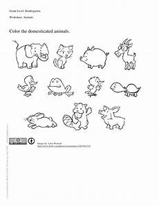 animals worksheets for kindergarten 14059 worksheet for kindergartners