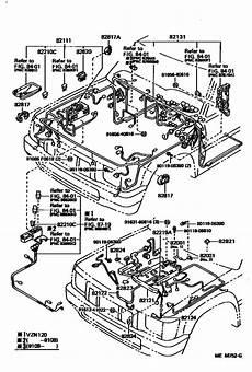 85 toyota 4runner efi wiring diagram wiring cl for 1988 1995 toyota hilux 4runner truck vzn90 europe sales region