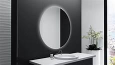 Badspiegel Rund Mit Beleuchtung - runder badspiegel mit led beleuchtung anas glaswerk24