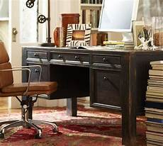 pottery barn home office furniture desk pottery barn google search large desk black