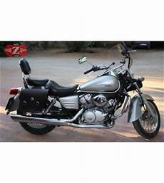 honda shadow 125 occasion saddlebags honda shadow vt 125 specific apache basic black