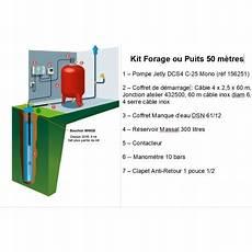 prix d un forage kit complet forage puisage jetly 50 m 232 tres profondeur 224