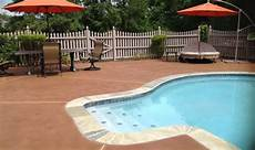 staining pool decks and patios direct colors