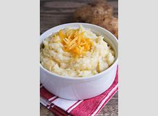 mashed potatoes cream and butter