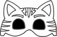hd pj masks owlette mask template molde mascara