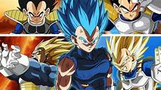 vegeta all forms and transformations remastered hd youtube