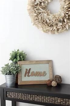 Easy To Make Diy Home Decor Ideas by 15 Easy Diy Home Decor Ideas A Houseful Of Handmade