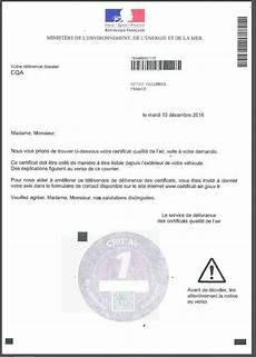 Demande De Certificat De Qualit 233 De L Air Par Voie