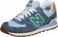 new balance ml574 schoenen blauw
