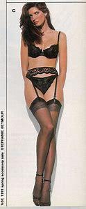 Stephanie seymour stockings