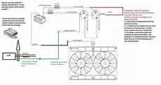spal dual fan setup installation issue dewitts radiator corvetteforum chevrolet corvette