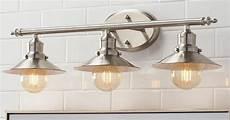 new 3 light brushed nickel vintage bathroom wall vanity light l shade fixture ebay