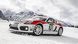 Porsche Cayman GT4 Clubsport Rally Car  CAR Magazine