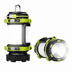 le 500lm led cing lantern usb rechargeable torch power