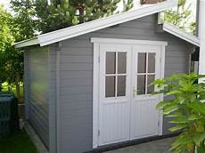 gartenhaus modern grau gartenhaus in grau und wei 223 aber n 228 chstes jahr bestimmt