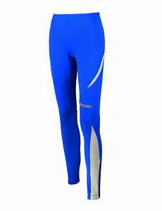 winter funktions laufhose pro lang blau royal l thermo