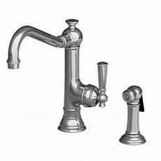 newport brass kitchen faucet 2470 5313 newport brass single handle kitchen faucet with side spray 2470 5313 focal point
